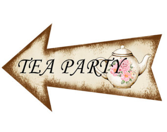 340x270 Mad Hatter Tea Party Clip Art Image Of Alice In Wonderland Clipart