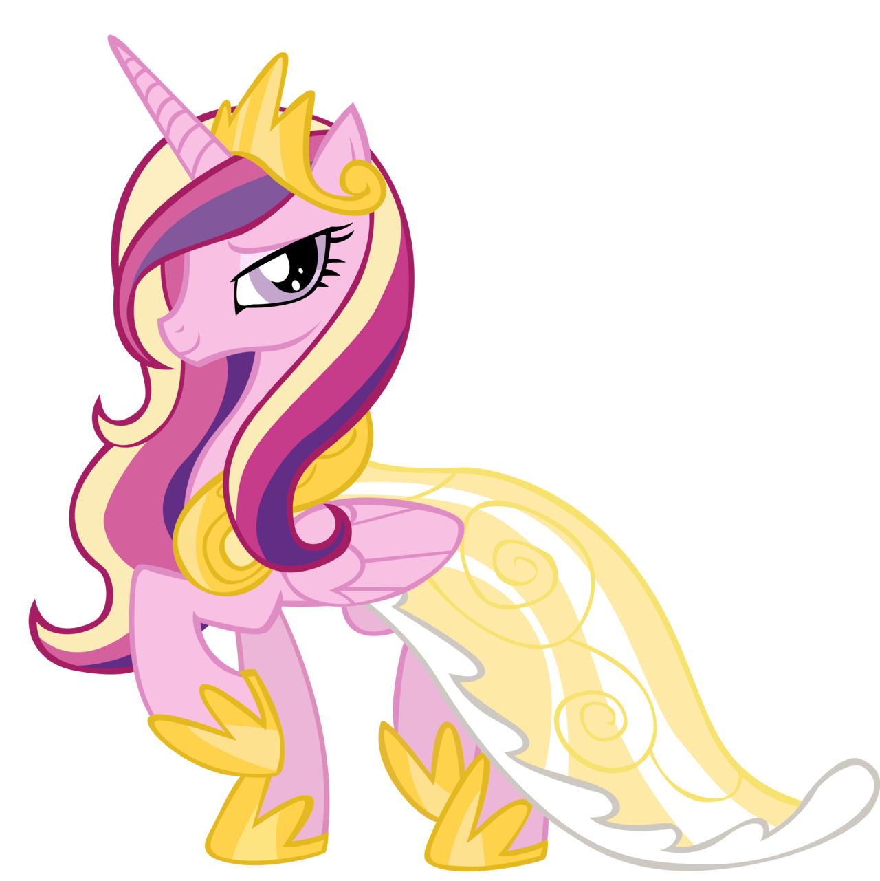 1280x1281 My Little Pony Clipart Cadence