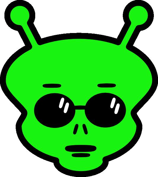 534x595 Alien Clip Art Free Vector 4vector