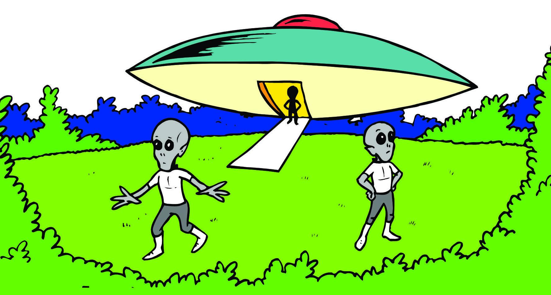 1777x953 Cartoon Alien Spaceship Clipart