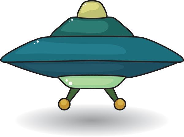 600x448 Ufo Spaceships Vector Cartoons