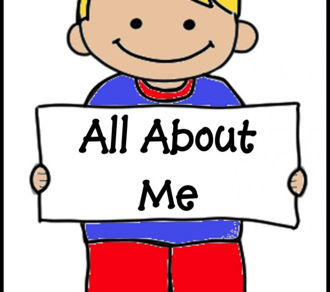 678x600 All About Me Clipart