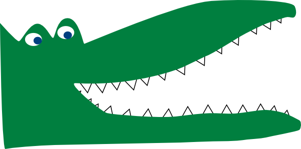 600x298 Crocodile Clip Art Crocodile Clipart For You Image 3