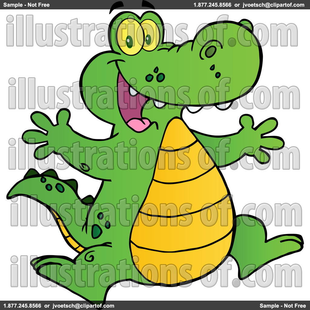 1024x1024 Cute Alligator Clipart Clipart Panda