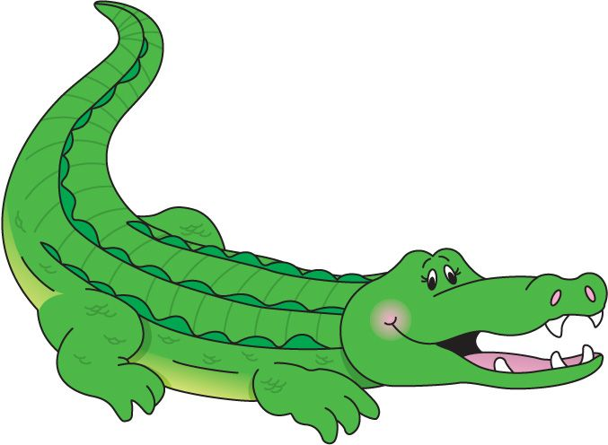 677x496 Free Alligator Clip Art Carson Dellosa Letters And Numbers