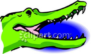 300x175 Croc Mouth Open Mouth Clipart