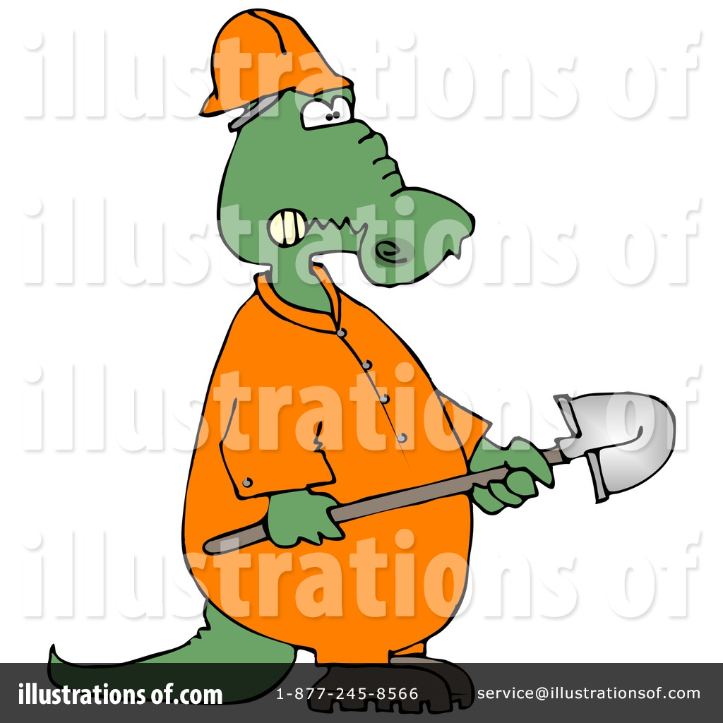 1024x1024 Alligator Clipart