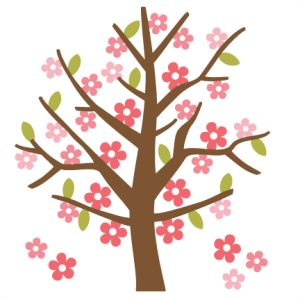 300x300 Blossom Clipart Cute Flower Tree