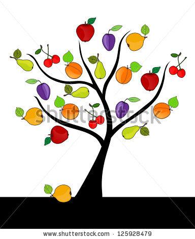 384x470 Cherry Tree Clipart Fruitful Tree