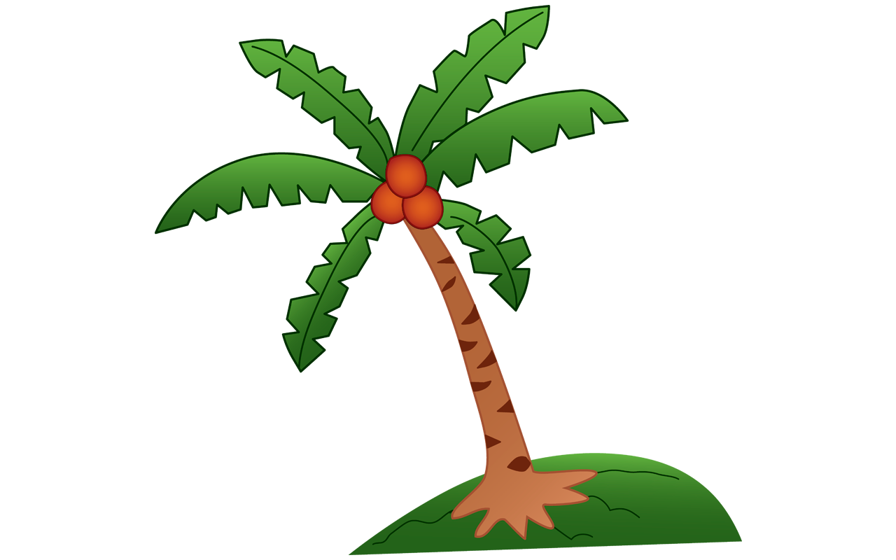 1280x800 19 Free Shocking Coconut Clipart