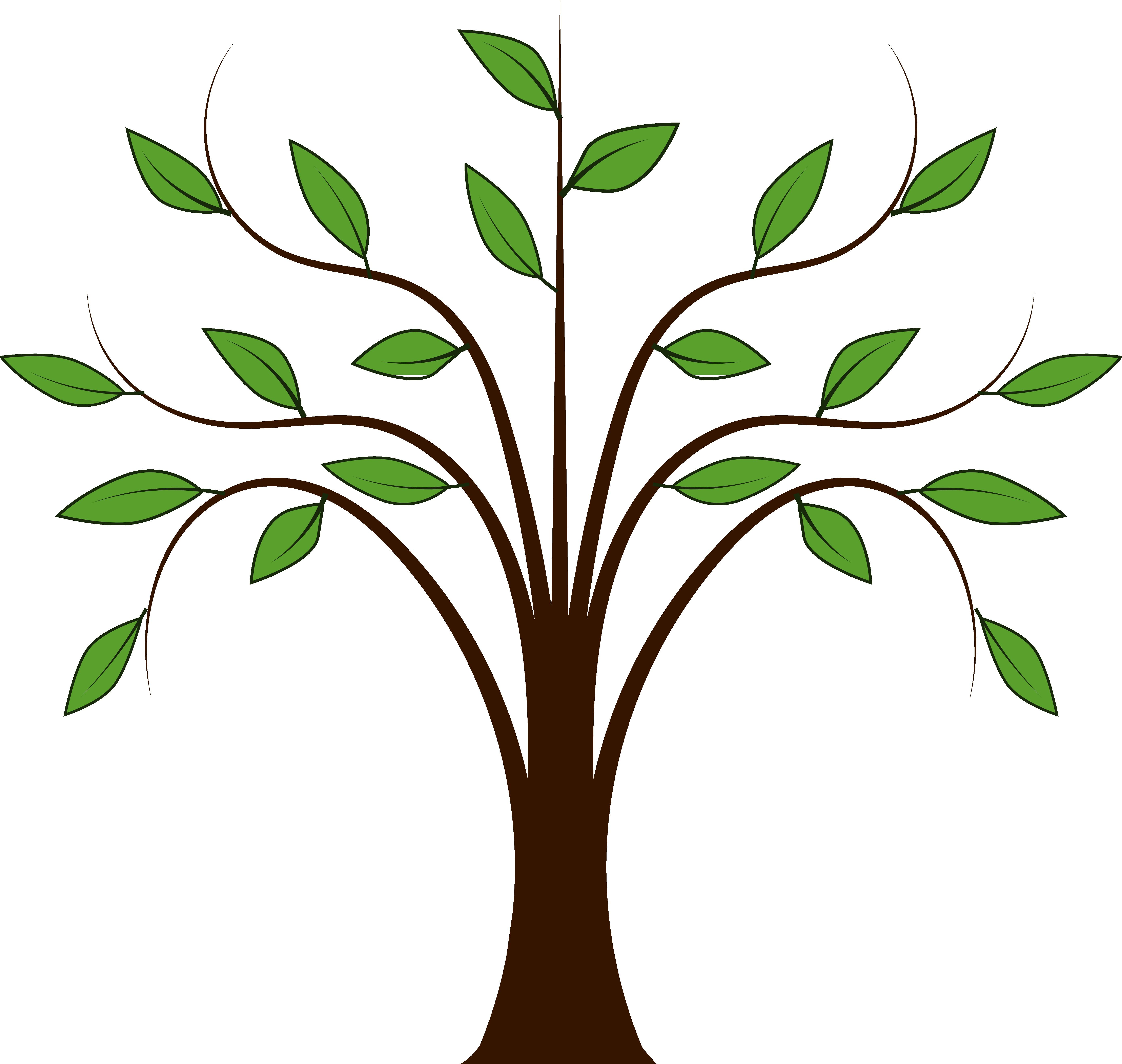 5555x5270 Tree Graphics Clip Art