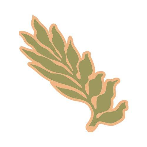 500x500 Elegant Tropical Leaves Clipart Od Aloha Leaf2 Clip Art Get