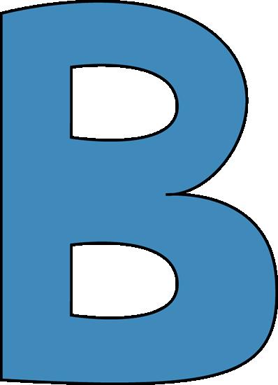 398x550 B Clipart Blue Alphabet Letter B Clip Art Blue Alphabet Letter B