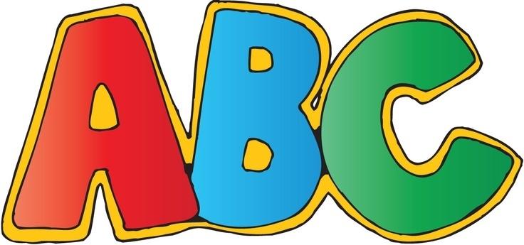 Image result for alphabet clip art