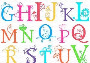 300x210 Free Letter Art Alphabet Designs Images For Cool Letter Designs