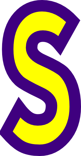 306x591 Letter S Clipart Clipartlook