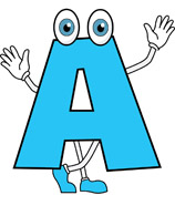 158x195 Letter A Clipart Image Group