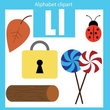 350x350 Alphabet Clip Art Letter L Beginning Sounds By Thinkingcaterpillars