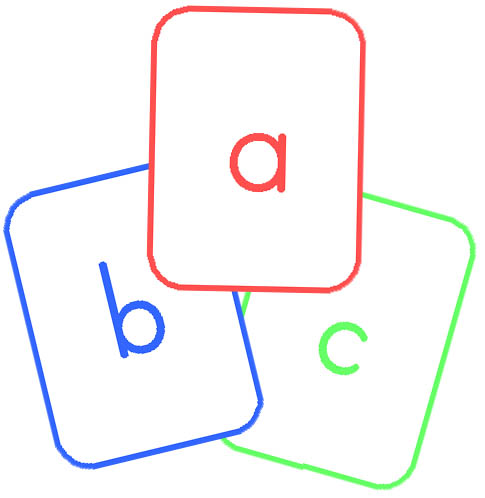 485x498 Letter Clipart Flashcard