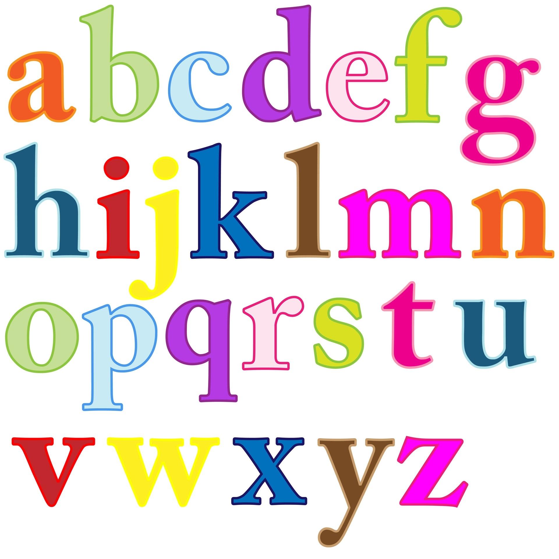 1920x1920 Alphabet Letters Clip Art