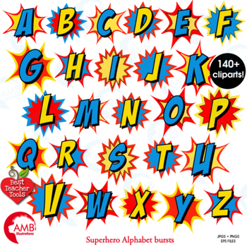 350x350 Superhero Clipart Letters Clipart, Letters Bursts, Alphabet