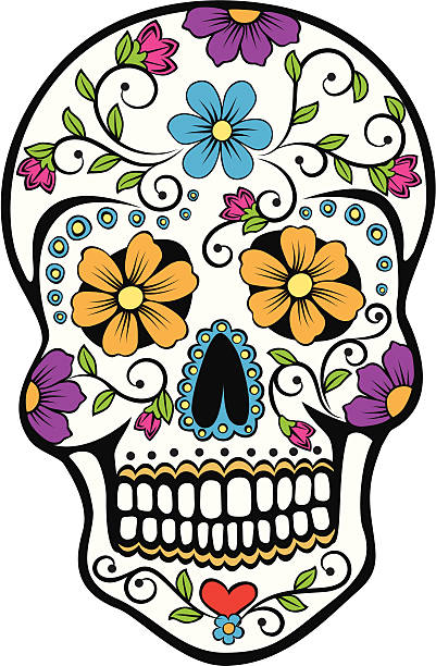 401x612 Precious Day Of The Dead Clipart Royalty Free Dia De Los Muertos