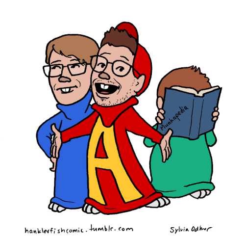 500x483 Hank, John, And Dave As Alvin And The Chipmunks .