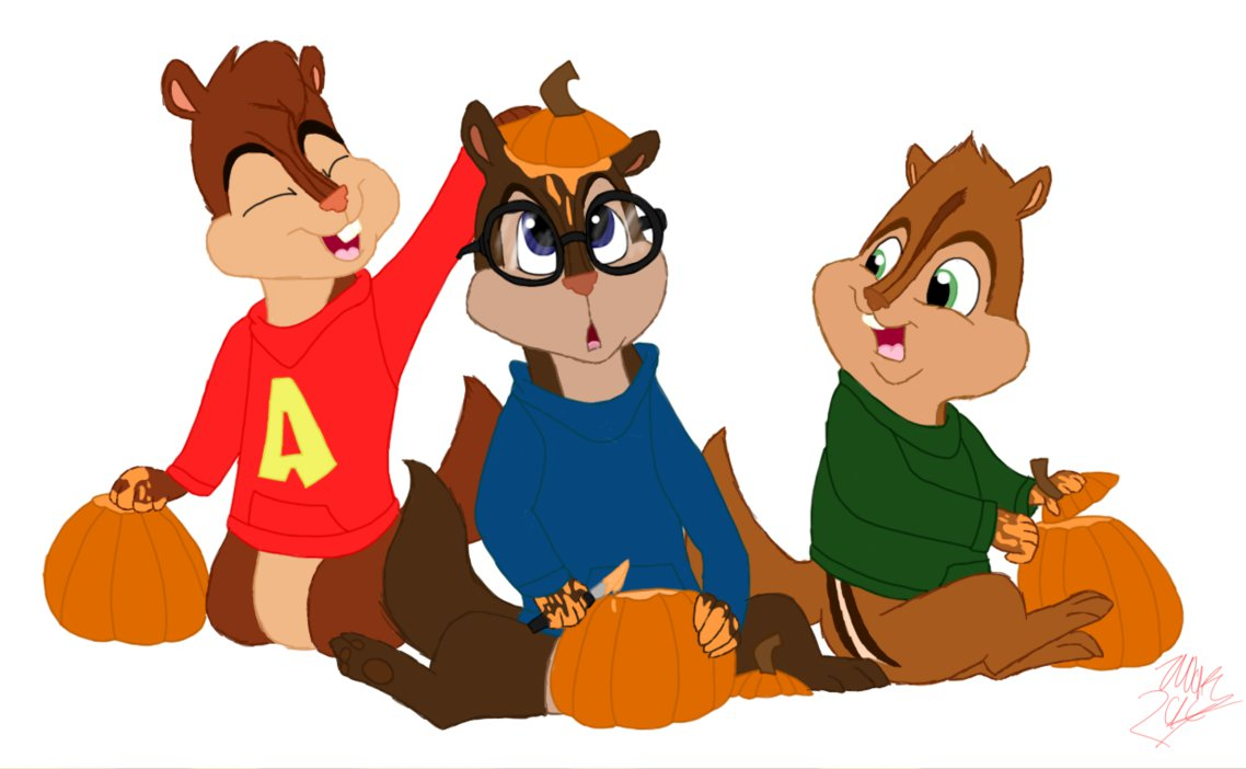 1138x702 Alvin And The Chipmunks Halloween By Hufflepuffrave