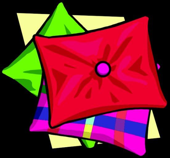 552x512 Clip Art Word Pillow Clipart (Amazing Clip Art Pillow