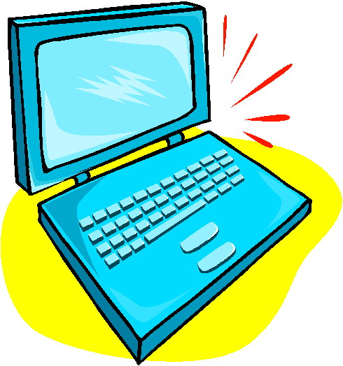 490x524 Amazing Clipart Laptop Thick Clip Art At Clker Com Vector Online