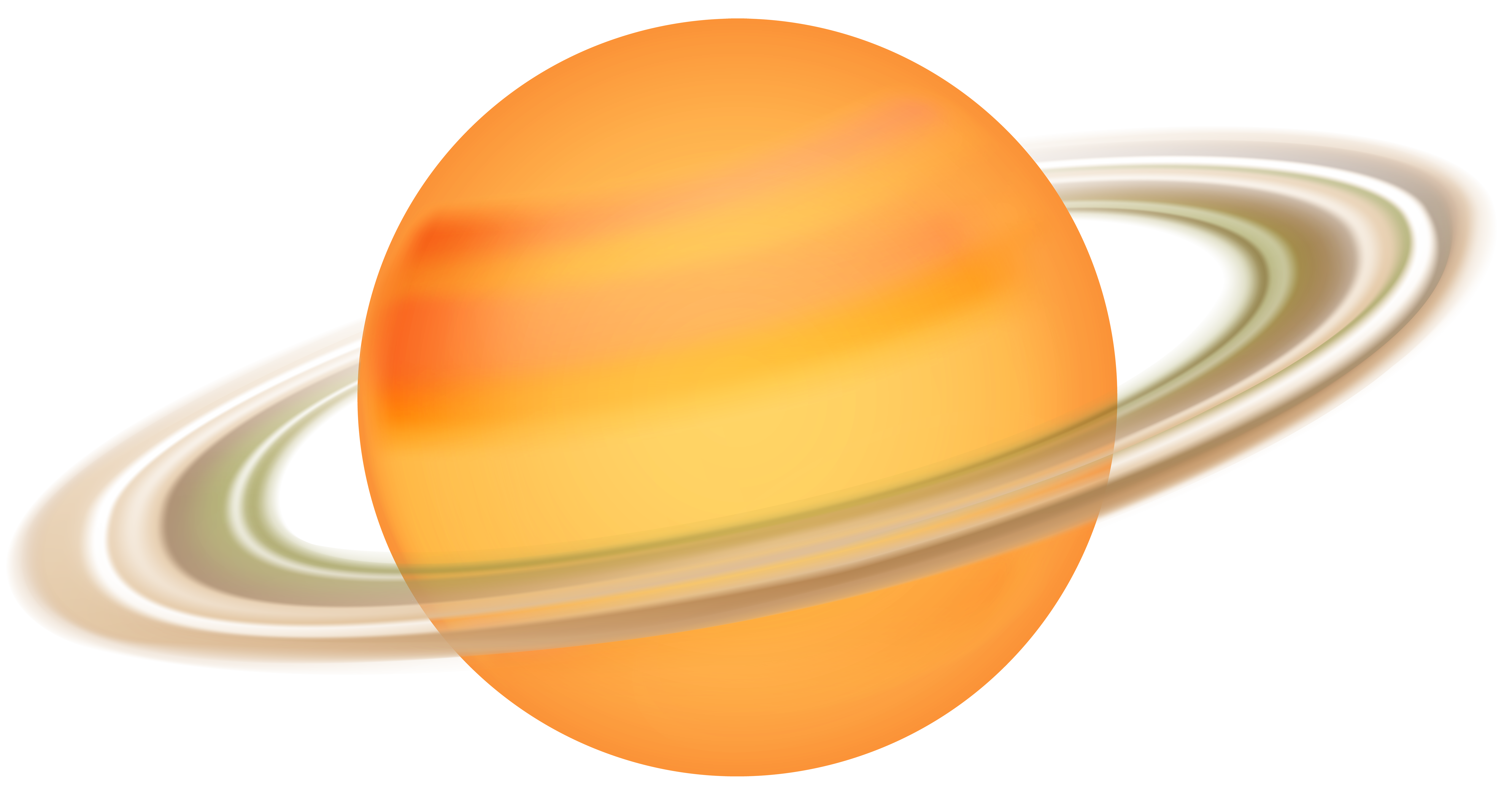 7000x3681 Saturn Png Clip Art