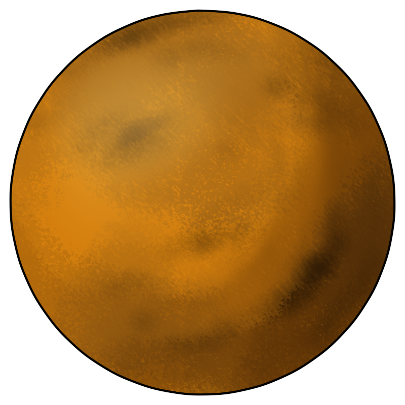 800x800 Venus Planet Clip Art