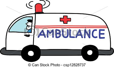 450x265 Collection Of Ambulance Line Drawing High Quality, Free