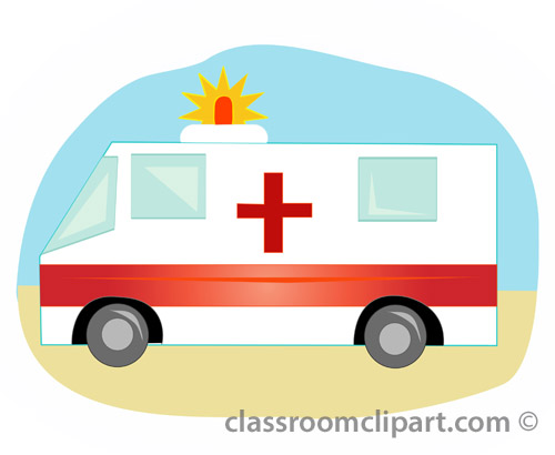 500x410 Ambulance Emergency Vehicle Clipart Kid 3