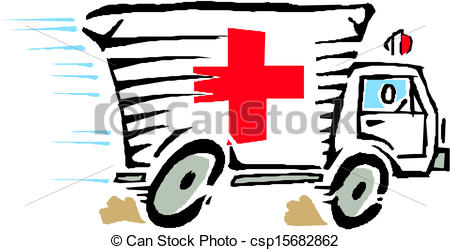 450x250 Ambulance Van Car Vector Clip Art Vector