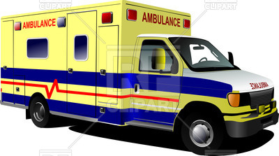 400x223 Modern Ambulance Car