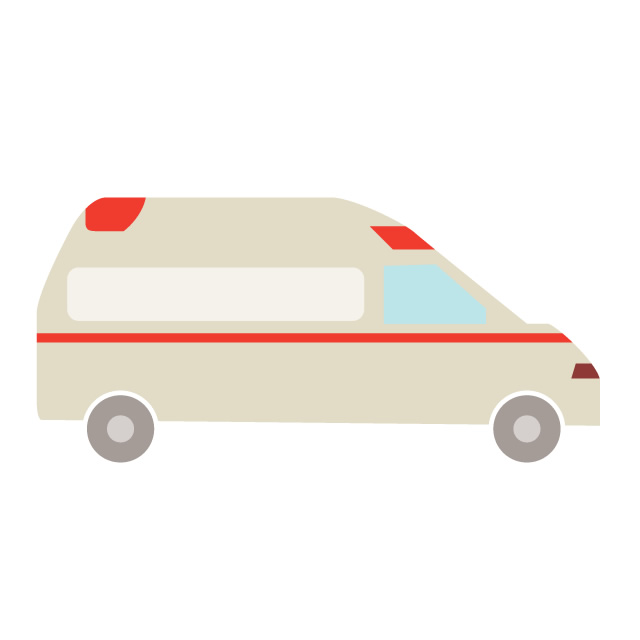 640x640 Ambulance Clip Art Material Free Illustration Image