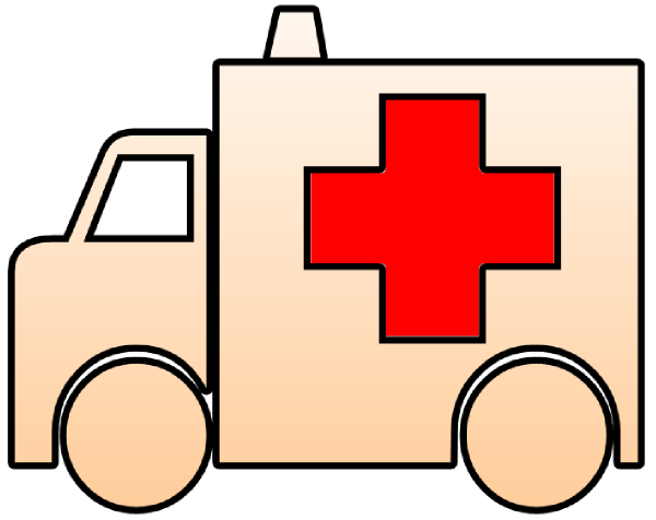 600x476 Ambulance Cutout Clip Art