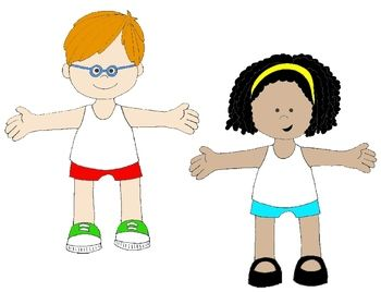 350x268 Kid's Body Pictures Clip Art