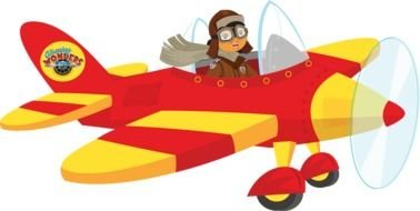 378x190 Amelia Earhart Plane Clip Art Free Image