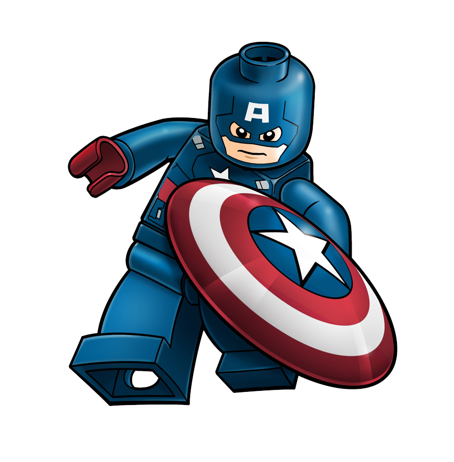 900x916 Captain America Lego Hd Clip Art Png Background