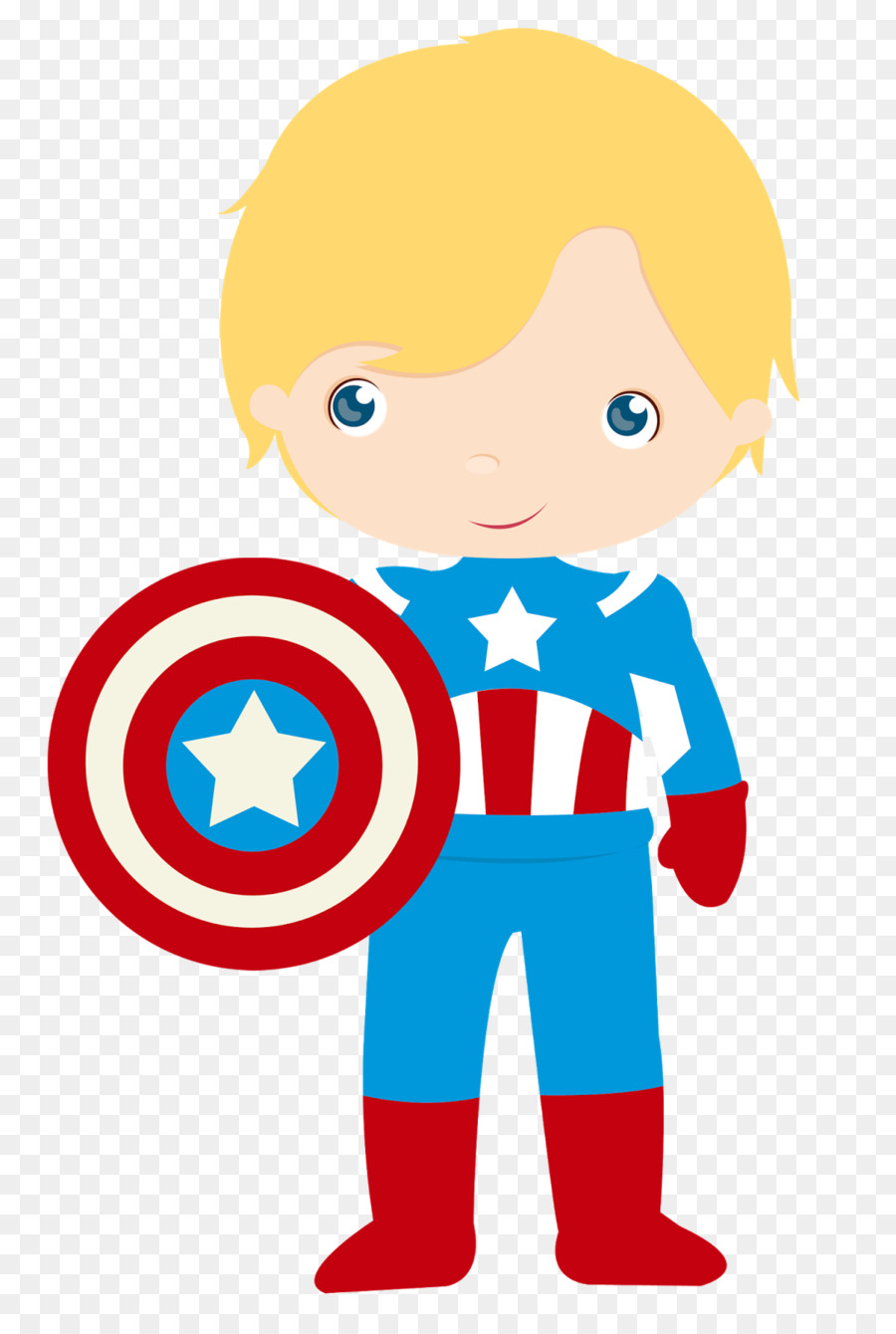 900x1340 Captain America Superhero Iron Man Thor Clip Art