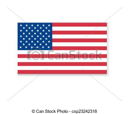 450x395 Flag Of America Vector Clip Art