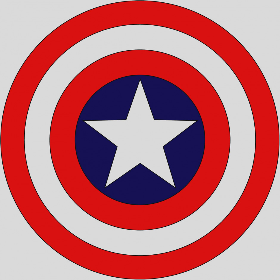 940x940 Gallery Of Captain America Clip Art The 5 Of Aw