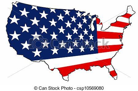 450x298 United States Of America Flag Clipart Panda