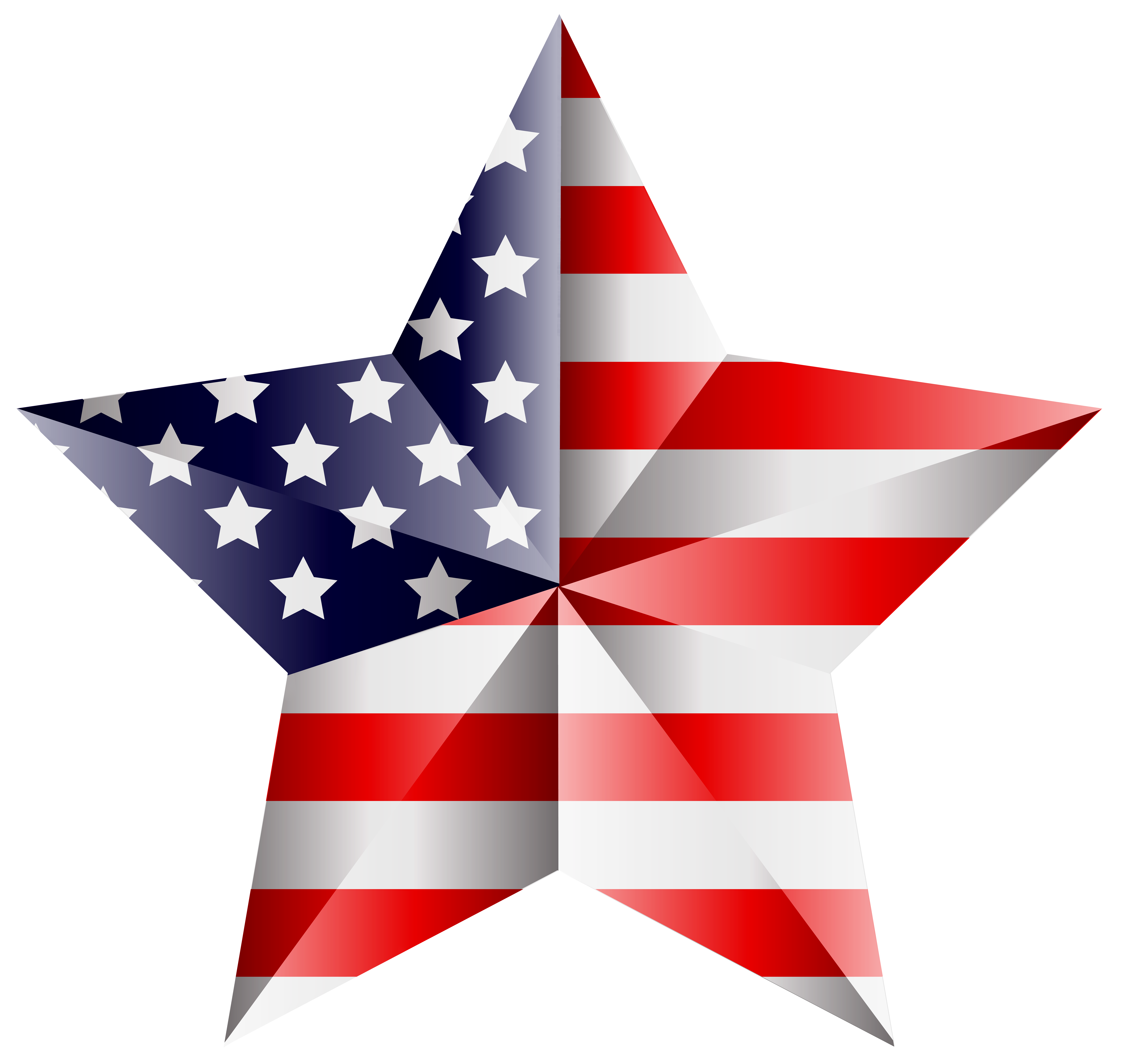 8000x7595 American Star Transparent Png Clip Art Imageu200b Gallery