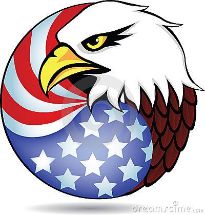 400x419 Collection Of American Eagle Clipart High Quality, Free