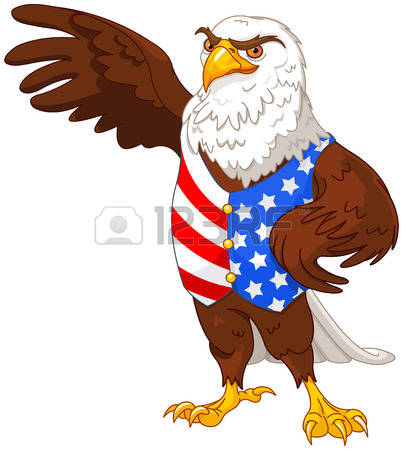 403x450 American Flag Eagle Clipart Collection