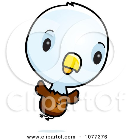 450x470 Clipart Cute Baby Bald American Eagle Chick Flying