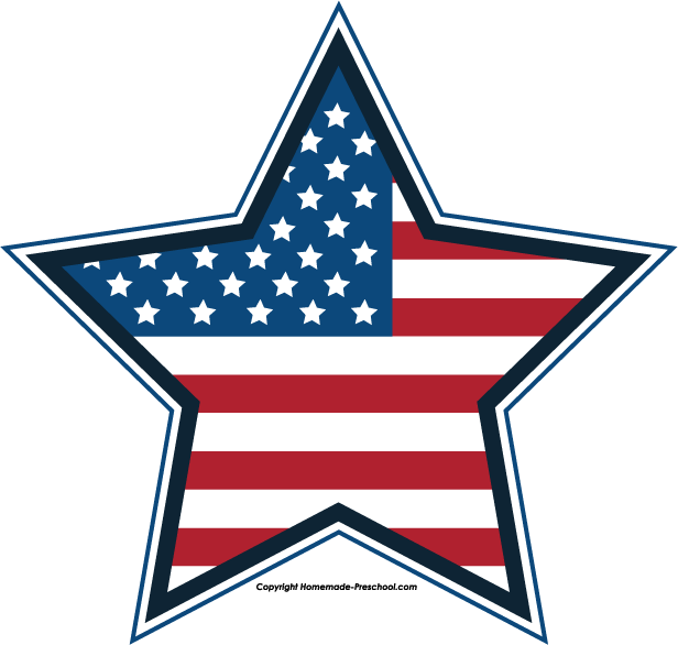 616x586 Free July 4th Clipart